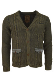 Pearly King - Harvest Knitwear - Brown