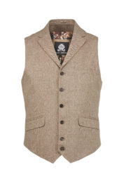 Guide London - Waistcoat 3102 - Brown
