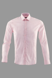 Guide London - Slim Fit Shirt - Pink