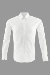 Guide London - Slim Fit Shirt - White