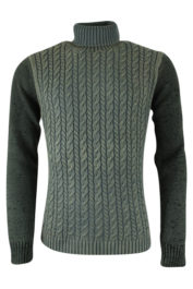 Pearly King - Topic Rollneck - Olive
