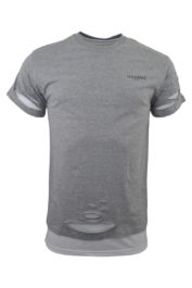 Illusive Double Layered Ripped Grey