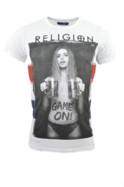 Religion Game on England 013 Tee White