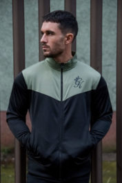gym-king-retro-track-top-black