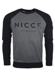 Nicce London Linear Sweat grey