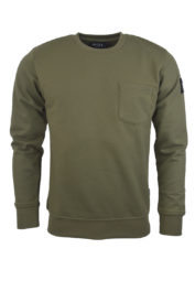 Nicce london Patch Pocket Sweat Khaki