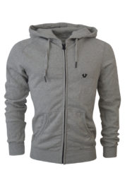 True Religion Horseshoe Hoody Grey