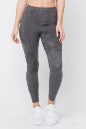 GFN Suede Leggings Grey
