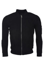 Project Paris Suede 3320 Bomber Black