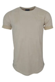Project Paris Suede Brand Carrier tee Ivory