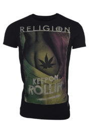 Religion 05001 Keep on Rollin T-Shirt Black