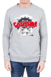 The Couture Club Swallow Crew Sweat Grey