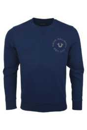 True Religion MW7 Crafted Sweat Navy