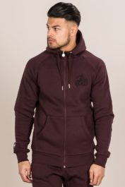 Bee Inspired Signature Hoody Burgundy