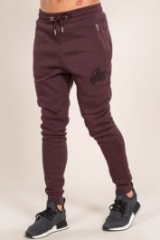 Bee Inspired Signature Jogger Burgundy1