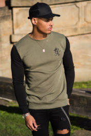 Gym King Crew Sweat Olive