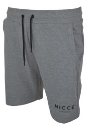 Nicce Original Logo Shorts Grey
