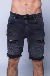 11 degrees Biker shorts Black