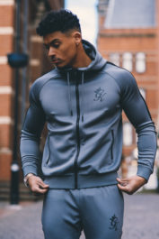 Gym King Poly Track Top Steel
