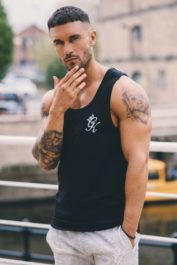 Gym King Tank Vest Black