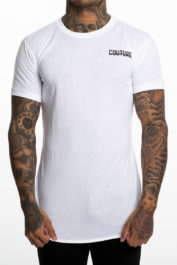 Fresh Couture Small logo tee White