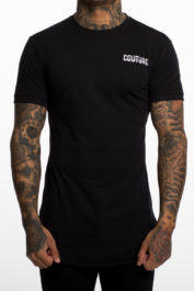 Fresh Couture Small logo tee black