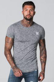 GFN Gibson stripe tee grey