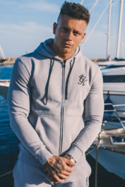 Gym King Core Fleece Hoodie Drizzle