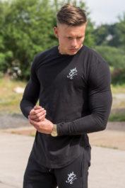 Gym King Long Sleeve Undergarment Black