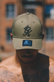 Gym King Pitcher Cap Olive