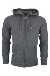 True Religion Hooded Horseshoe Grey