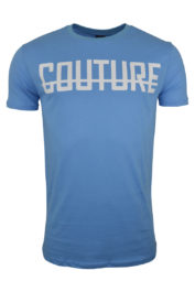 Fresh Couture Large logo Tee Aqua