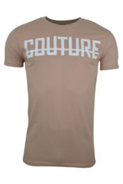 Fresh Couture Large logo Tee Rose