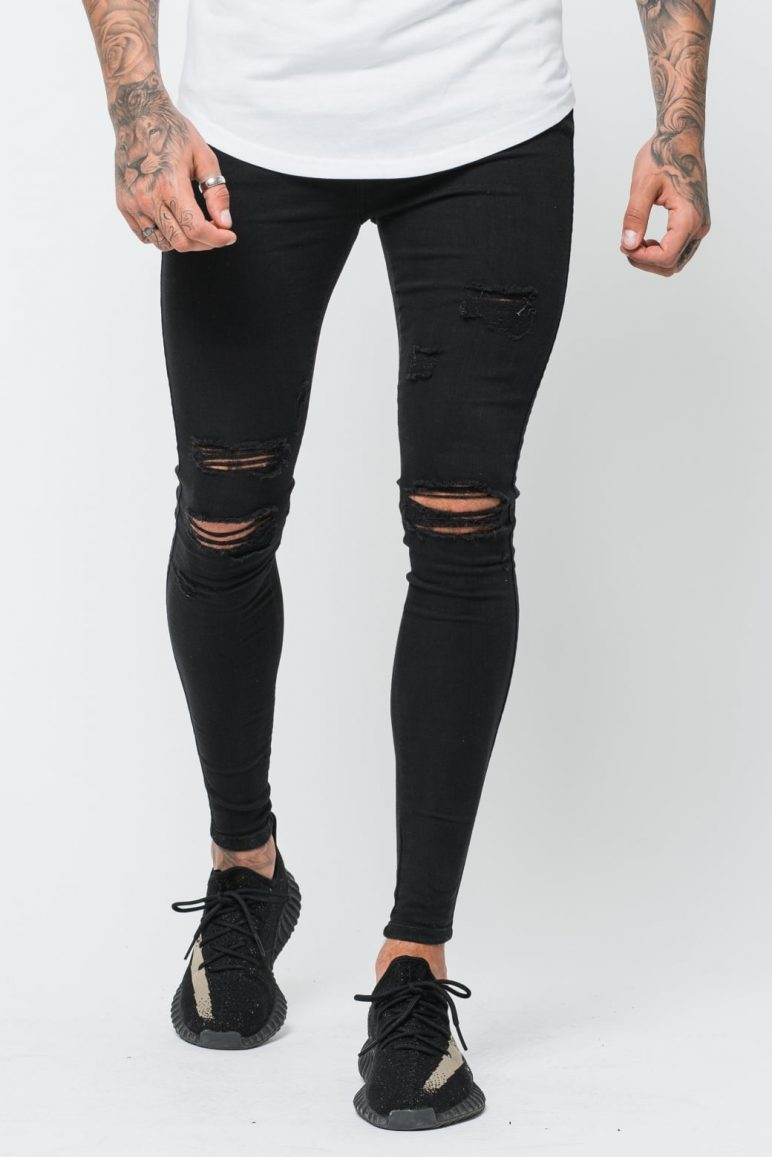 Destroyed Jeans Women