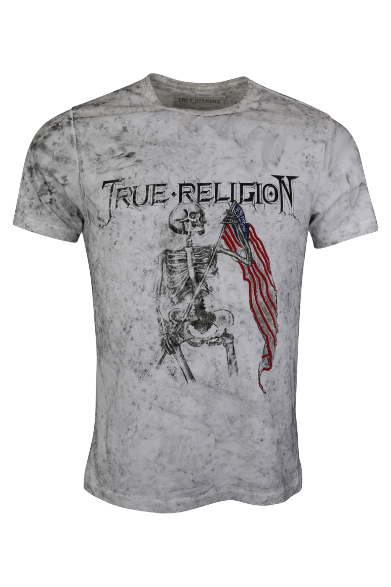 True Religion - 4th Flag T-Shirt - White - Baccus