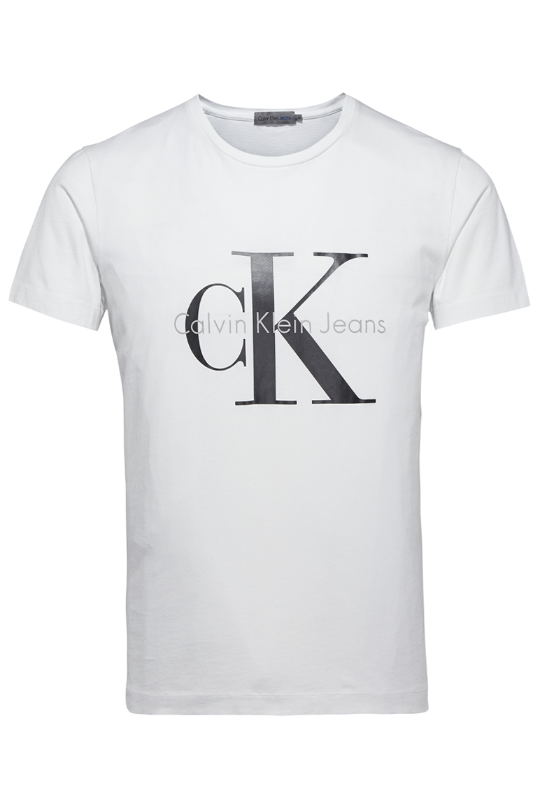 48d2e7870787 Home / Men / T-Shirts / Calvin Klein – Re-Issue T-Shirt – White. 🔍.  Previous. Next