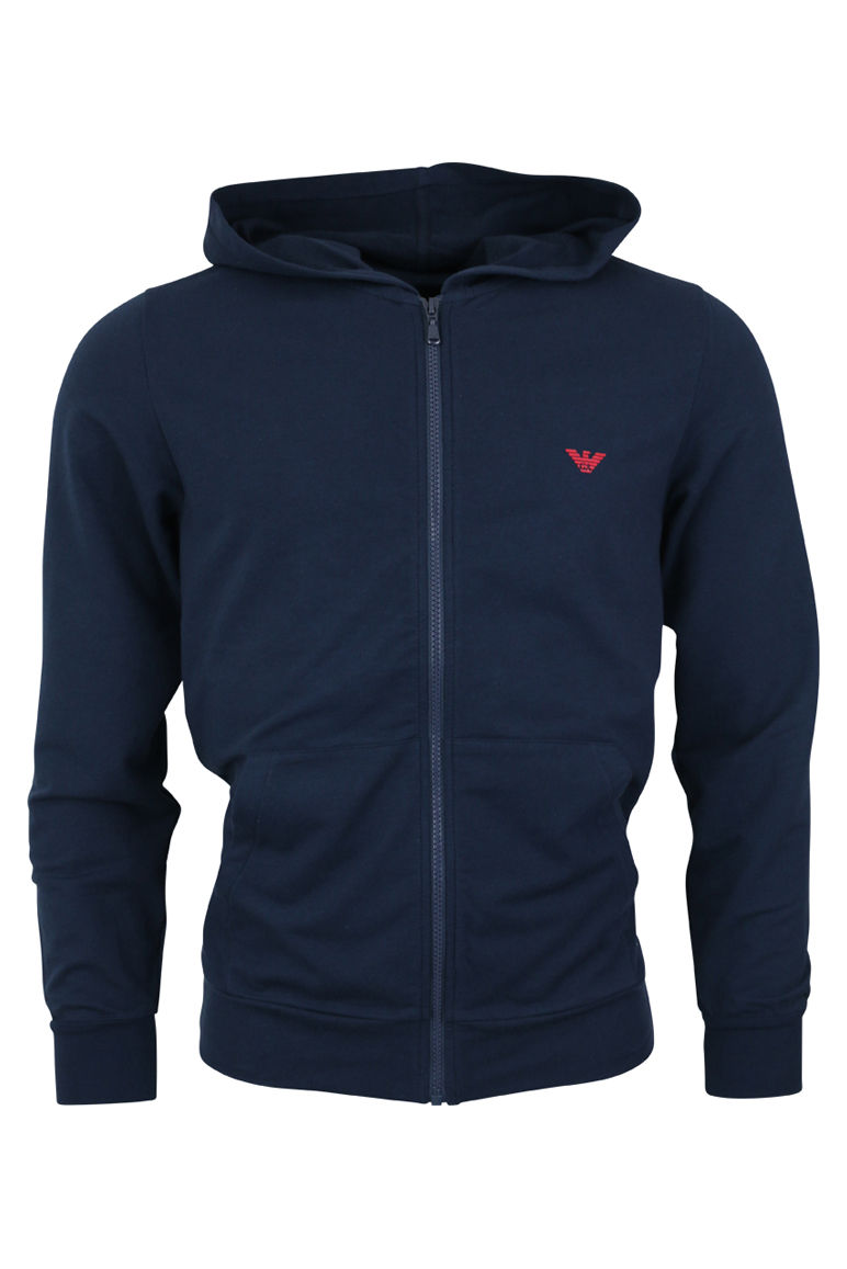 Emporio Armani – 8P575 Zip Through Hoodie – Navy