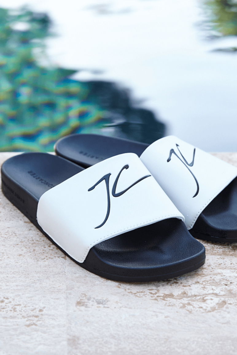 Jameson Carter – JC Sliders – White