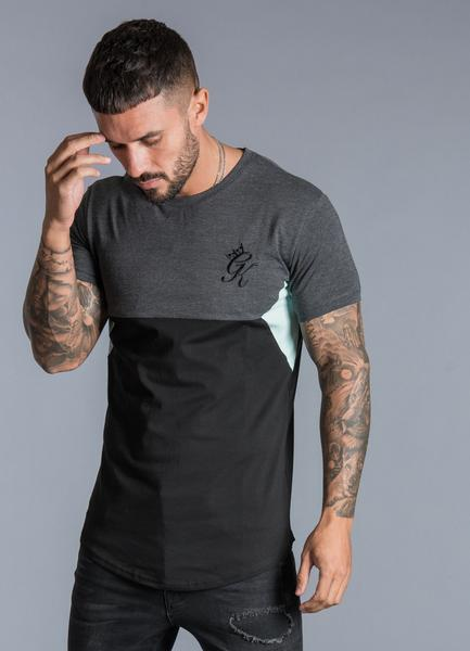 fe90ee69 Gym King - Sonny T-Shirt - Charcoal - Baccus