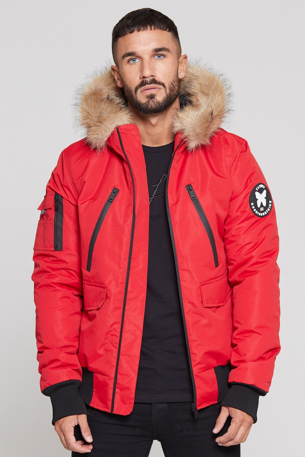 Good For Nothing – Artic Fortitude Bomber – Red