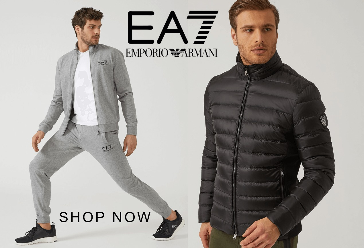 Latest AW18 collections from Armani EA7