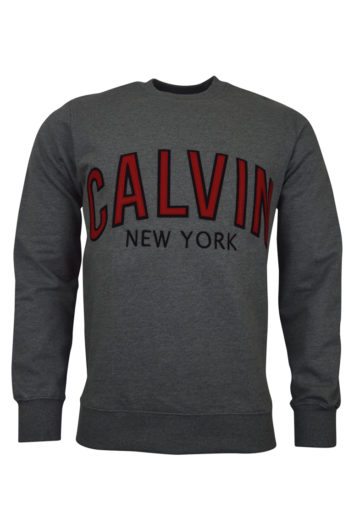 Calvin Klein - Varsity Graphic Sweat - Grey