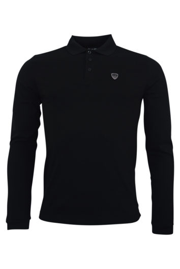 EA7 - 8NPF95 LS Polo - Black
