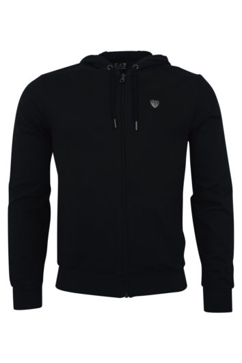 EA7 - 8NPM15 Shield Zip Hood - Black