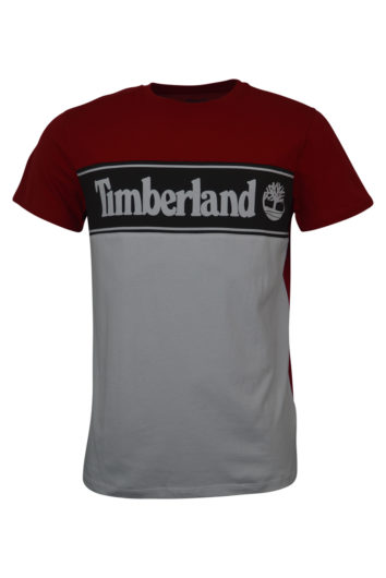 Timberland - Cut Sew T-Shirt - Red