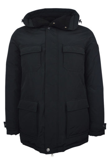 EA7 - 67PKO5 Down Jacket - Black