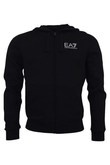 EA7 - 6ZPM11 Zip Hood 2019 - Black