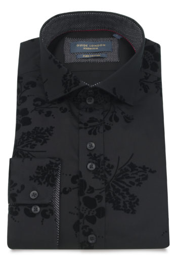 Guide London - LS74872 Shirt - Black