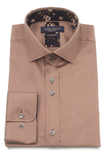 Guide London - LS74910 Shirt - Tan