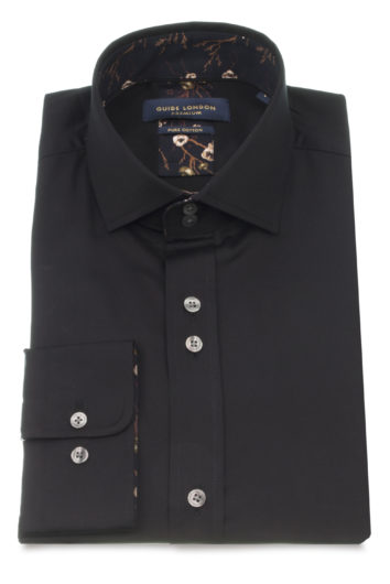 Guide London - LS74910 Shirt - Black